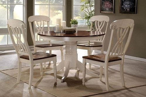 12 Amazing Sears Dining Room Sets Under $1000 Worth Your Money intended for Craftsman 5 Piece Round Dining Sets With Side Chairs