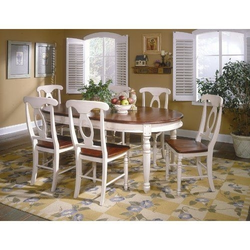 12 Best Kitchen Images On Pinterest | Chair, Chairs And Side Chair Throughout Caden 7 Piece Dining Sets With Upholstered Side Chair (Image 2 of 25)