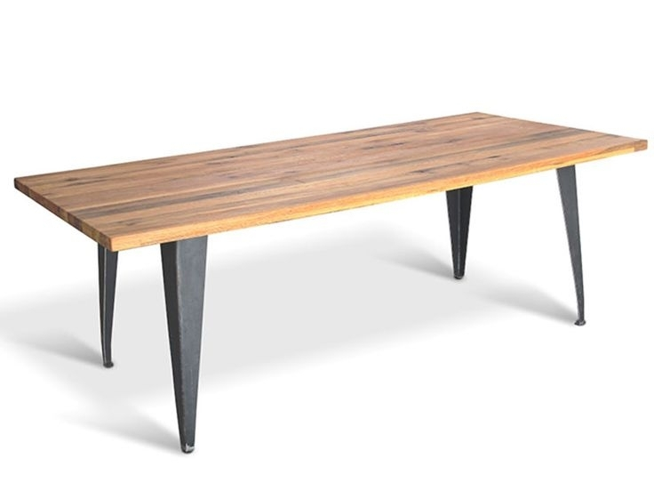 12 Best Rustic Industrial Table Design Images On Pinterest With Regard To Bale Rustic Grey 7 Piece Dining Sets With Pearson Grey Side Chairs (Image 4 of 25)
