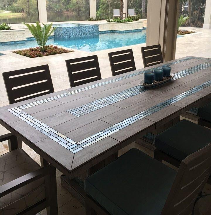 1251 Best Tafel S Moza¯ek Images On Pinterest Mosaic Dining Tables Within Mosaic Dining Tables For Sale (View 9 of 25)