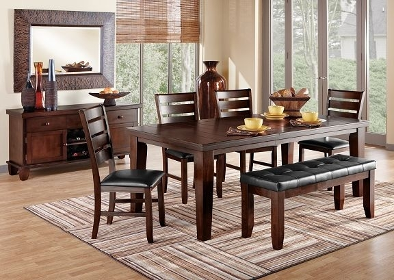 13 Best Dining Room Images On Pinterest | Dining Room Sets, Dining Within Wyatt 7 Piece Dining Sets With Celler Teal Chairs (Image 2 of 25)