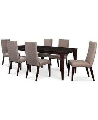13 Best Dining Room Images On Pinterest | Table Settings, Dining Within Palazzo 7 Piece Rectangle Dining Sets With Joss Side Chairs (View 6 of 25)