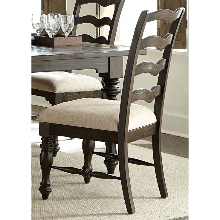 13 Best Ladderback Images On Pinterest | Dining Chair, Dining Room Pertaining To Bale 6 Piece Dining Sets With Dom Side Chairs (View 13 of 26)