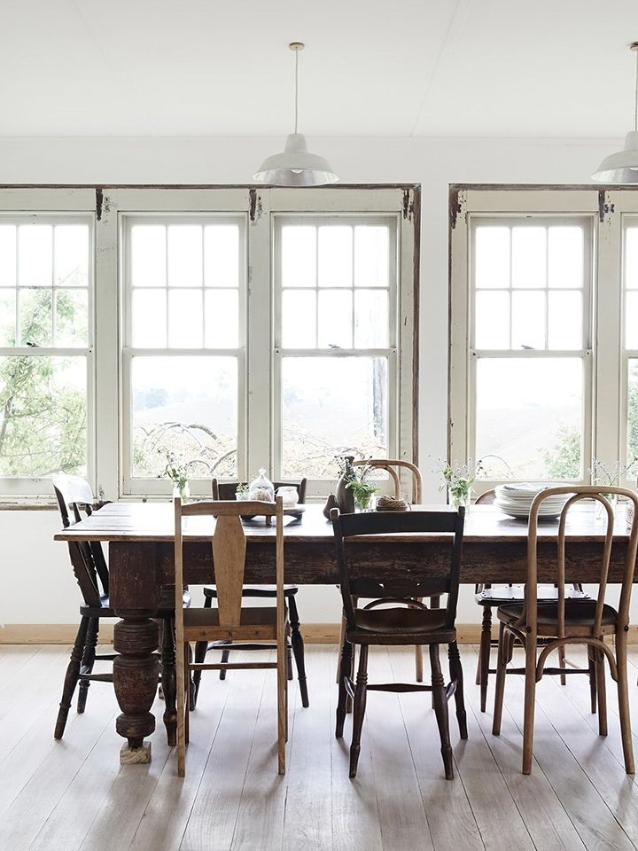 13 New Kitchen Trends And My Feelings About Them | Kitchens With Regard To Non Wood Dining Tables (Image 1 of 25)