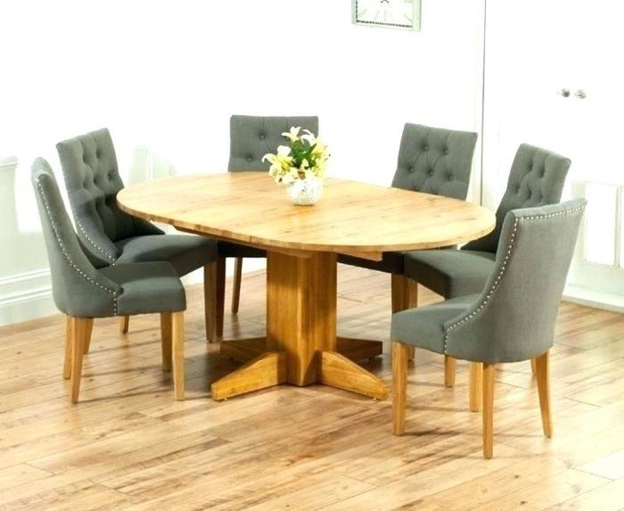 13. Oak Dining Room Table And 6 Chairs Oak Dining Table And Chairs throughout Oak Extending Dining Tables And 6 Chairs