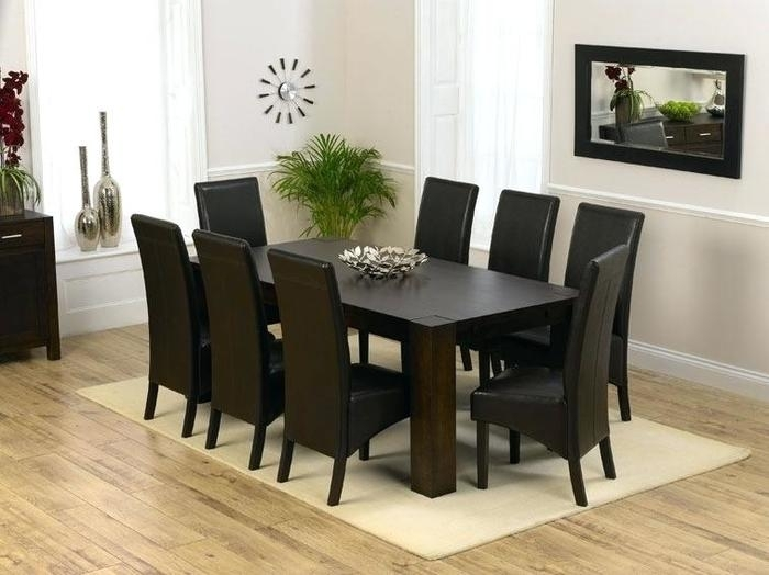 14. 8 Seater Dining Table And Chairs Exciting 8 Dining Room Table with 8 Seater Black Dining Tables