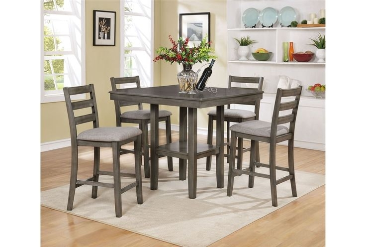14 Best Stools Images On Pinterest regarding Jameson Grey 5 Piece Counter Sets