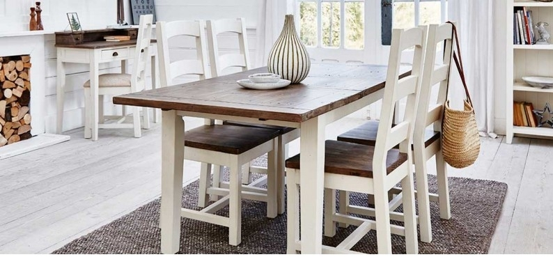 140Cm Ext Dining Table - Cotswold Dining Furniture throughout Cotswold Dining Tables