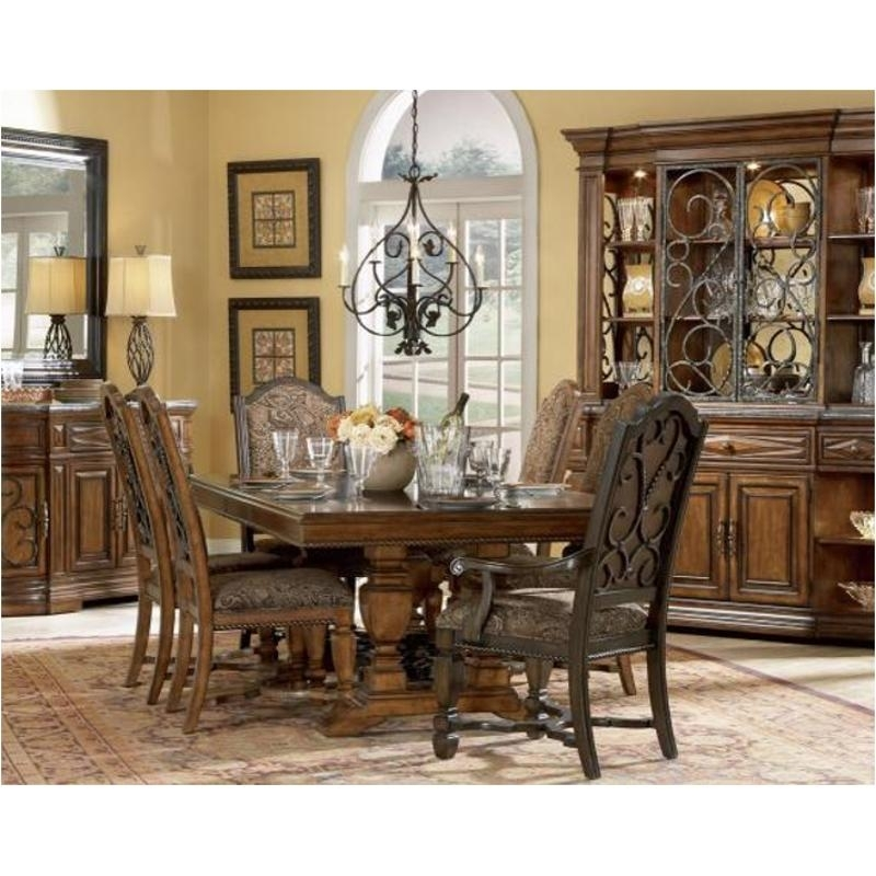 144221-2624Tp A R T Furniture Marbella Rectangular Dining Table with Marbella Dining Tables