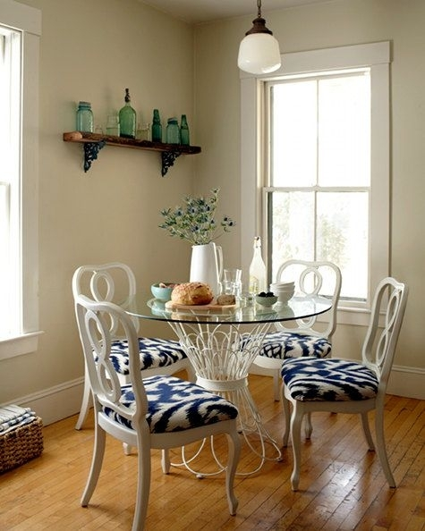 15 Best Glass Table Images On Pinterest | Round Glass, Glass Dining In Palazzo 6 Piece Dining Set With Mindy Slipcovered Side Chairs (Image 2 of 25)
