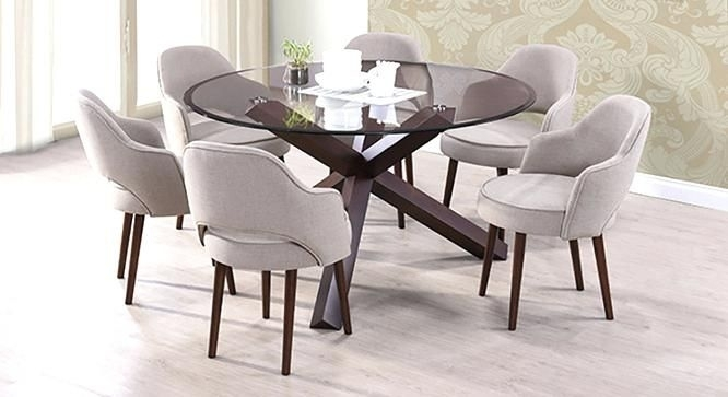 16 Best Dining Room Images On Pinterest | Dining Room, Dining Rooms With Regard To Black Glass Dining Tables 6 Chairs (Image 1 of 25)