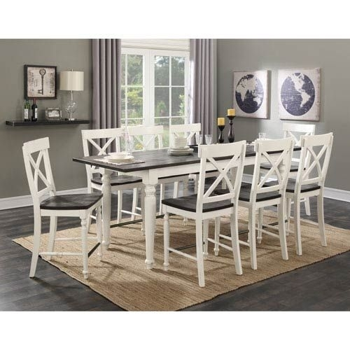 16 Best Dining Room Images On Pinterest   Dining Room, Dining Table With Combs 5 Piece 48 Inch Extension Dining Sets With Pearson White Chairs (Image 3 of 25)