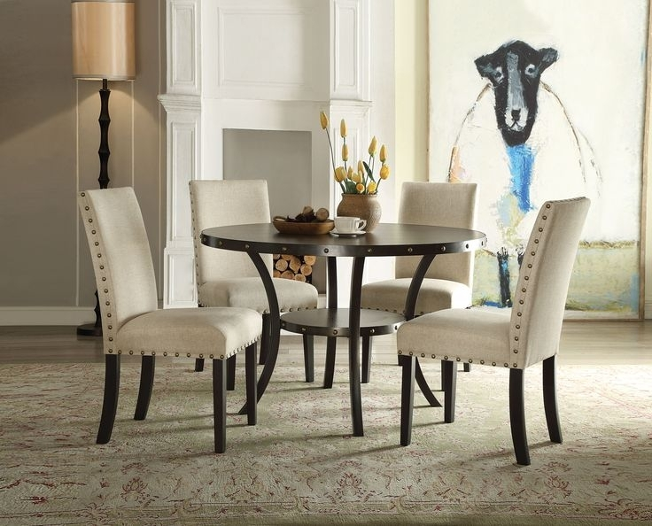 16 Best Shelbi Images On Pinterest | Dining Sets, Dining Room And Inside Candice Ii 5 Piece Round Dining Sets With Slat Back Side Chairs (Photo 7 of 25)