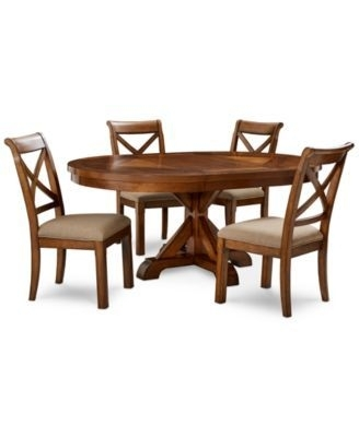 16 Best Shelbi Images On Pinterest | Dining Sets, Dining Room And throughout Candice Ii 5 Piece Round Dining Sets With Slat Back Side Chairs