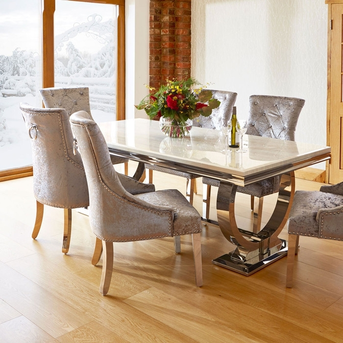 16. Marble Top Dining Table With Bench Dining Tables With Bench Diy throughout Marble Dining Tables Sets