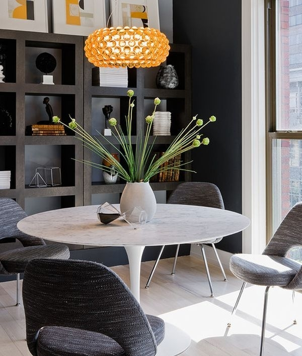 17 Best Tables Tulipes Images On Pinterest | Tulips Flowers, Dining Regarding Palazzo 6 Piece Dining Sets With Pearson Grey Side Chairs (Image 1 of 25)