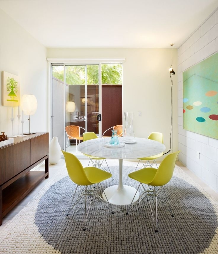 17 Best Tables Tulipes Images On Pinterest | Tulips Flowers, Dining With Regard To Palazzo 6 Piece Dining Sets With Pearson Grey Side Chairs (Image 3 of 25)