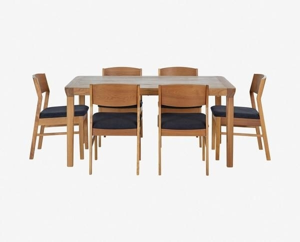 18 Best Dining Table Images On Pinterest | Dining Room, Dining Rooms Intended For Candice Ii 7 Piece Extension Rectangular Dining Sets With Slat Back Side Chairs (Photo 21 of 25)