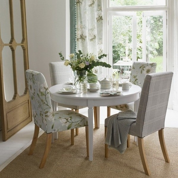 18 Elegant Round Dining Table 4 Chairs | Interiorz (Image 1 of 25)