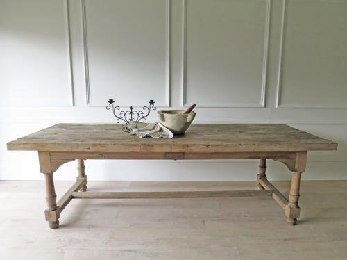 18Th C French Farmhouse Dining Table – Circa 1790 In Antique Tables Regarding French Farmhouse Dining Tables (Image 1 of 25)