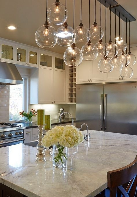 19 Home Lighting Ideas In 2018 | For The Home | Pinterest | Kitchen Inside Lights Over Dining Tables (Image 2 of 25)