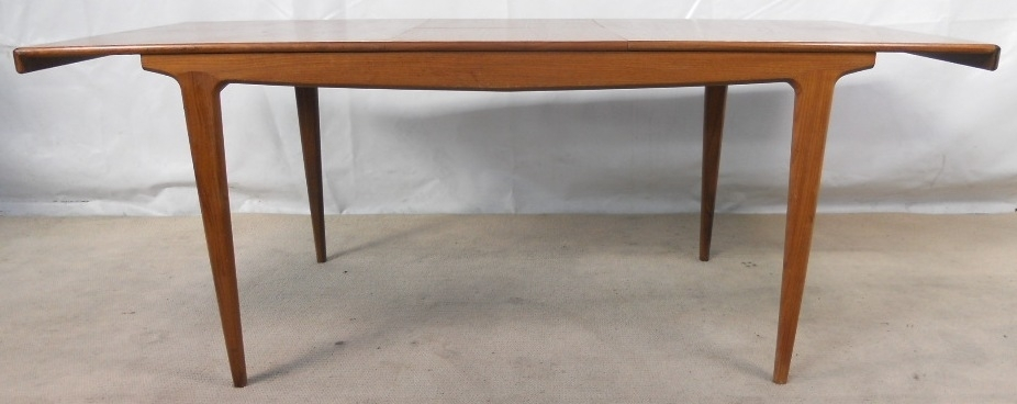 1960 S Retro Teak Extending Dining Table To Seat Ten – Sold In Retro Extending Dining Tables (Image 2 of 25)