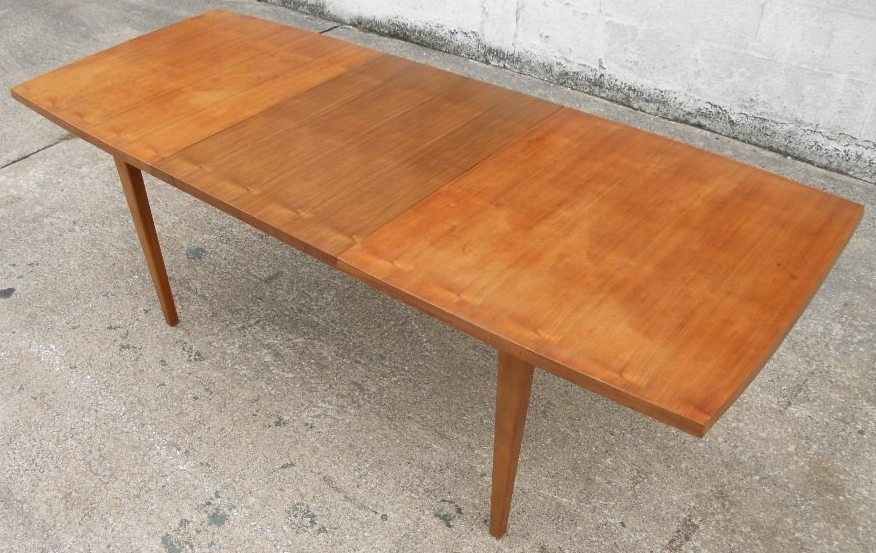 1960 S Retro Teak Wood Extending Dining Table To Seat Eight – Sold With Regard To Retro Extending Dining Tables (View 4 of 25)