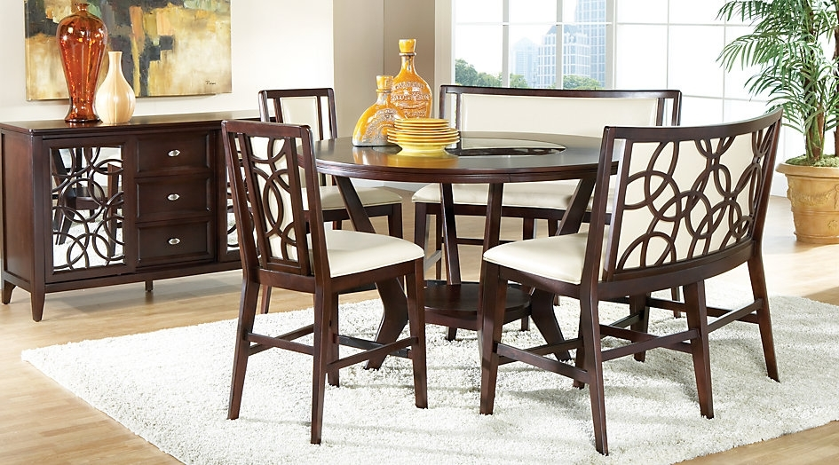 2. Cindy Crawford Dining Room Furniture Pertaining To Crawford 6 Piece Rectangle Dining Sets (Photo 14 of 25)
