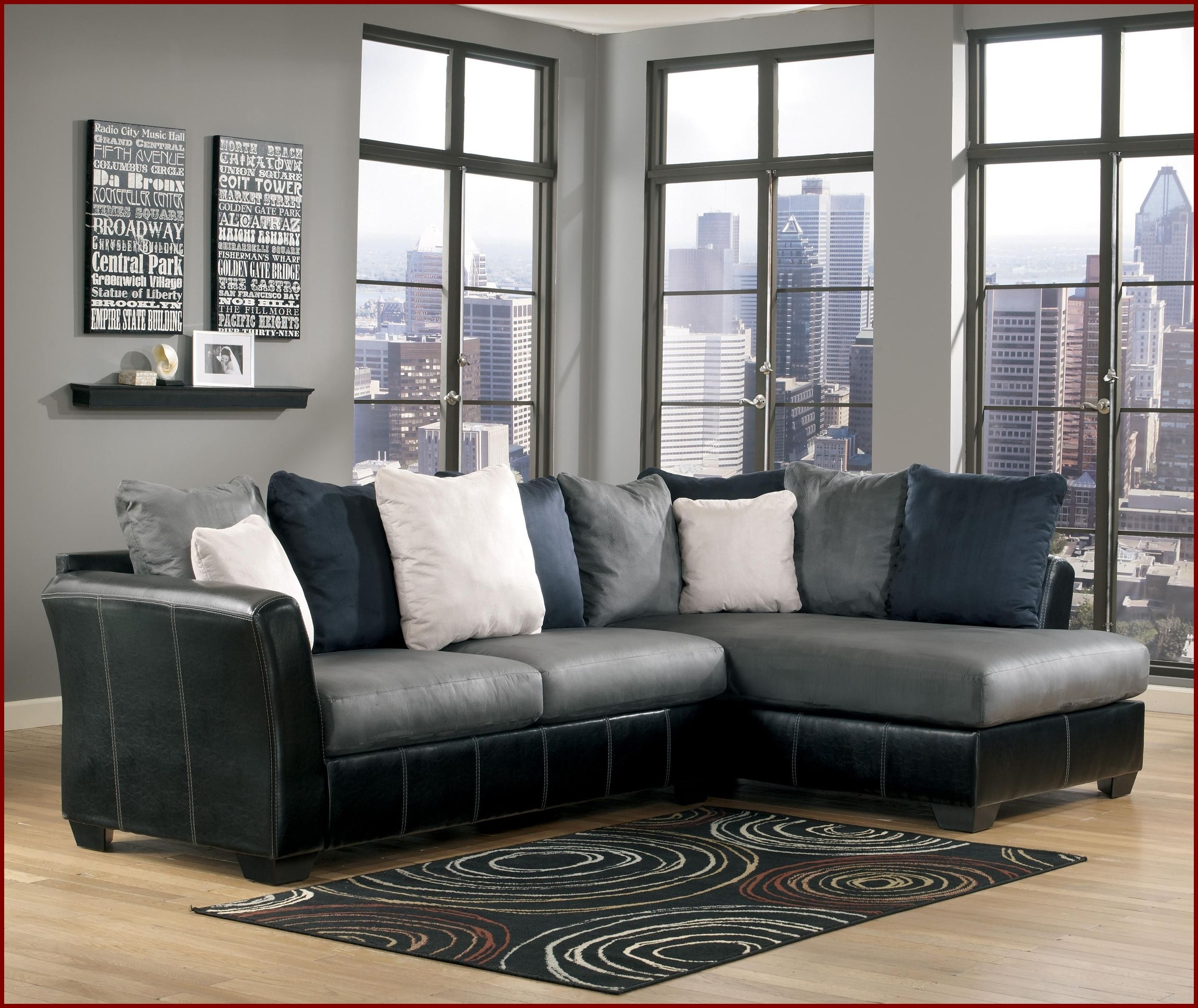 2 Pc Sectional Sofa Chaise | Best Home Furniture Ideas in Delano 2 Piece Sectionals With Raf Oversized Chaise