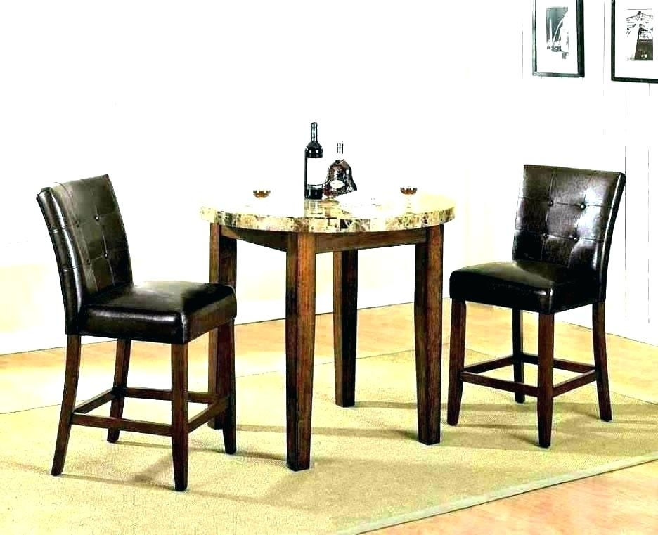 2 Person Dining Table Two Person Dining Table Dining Table Set For 2 Throughout Small Two Person Dining Tables (View 7 of 25)