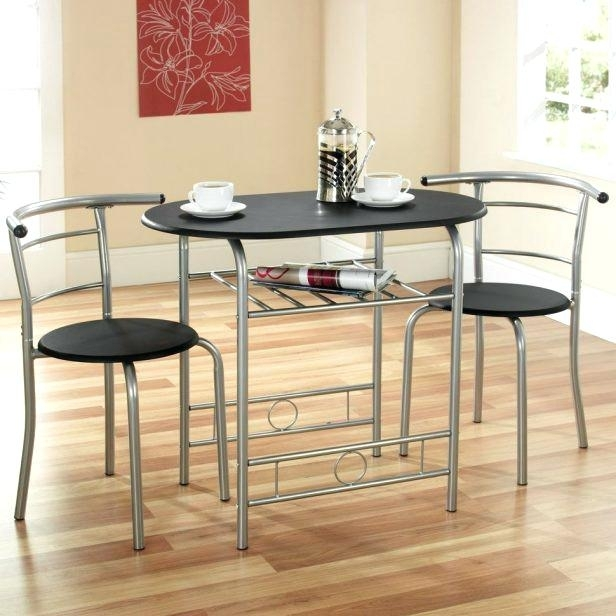 2 Person Kitchen Table Set 2 Person Kitchen Table Set Two Chair Pertaining To Dining Table Sets For  (Image 2 of 25)