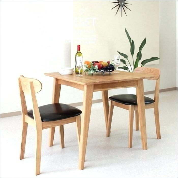 2 Person Kitchen Table Two Person Kitchen Table And Chairs Two Intended For Dining Tables With 2 Seater (Image 1 of 25)