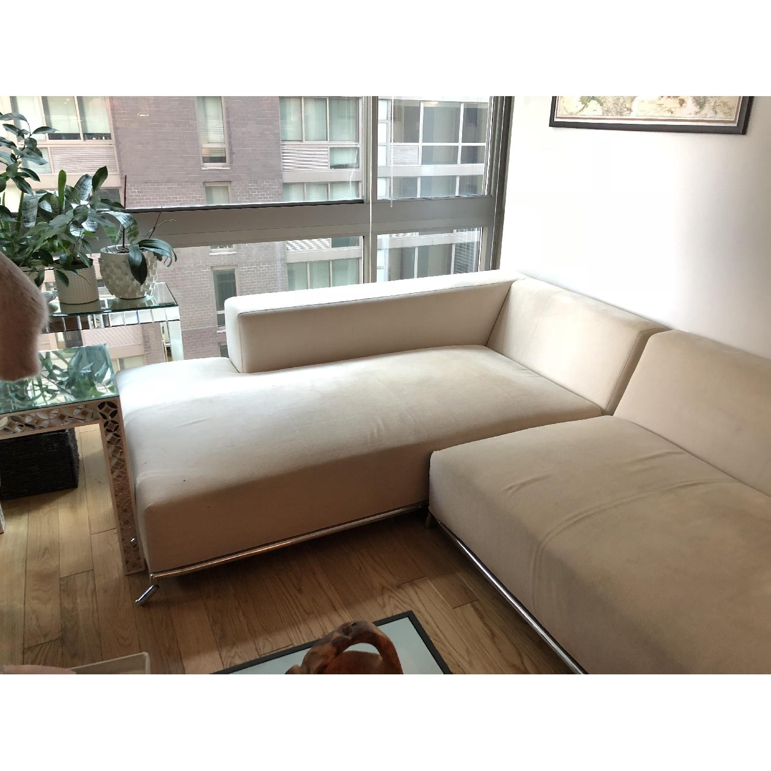 2 Piece Chaise Sectional Sofa | Baci Living Room Throughout Tenny Cognac 2 Piece Left Facing Chaise Sectionals With 2 Headrest (Image 3 of 25)