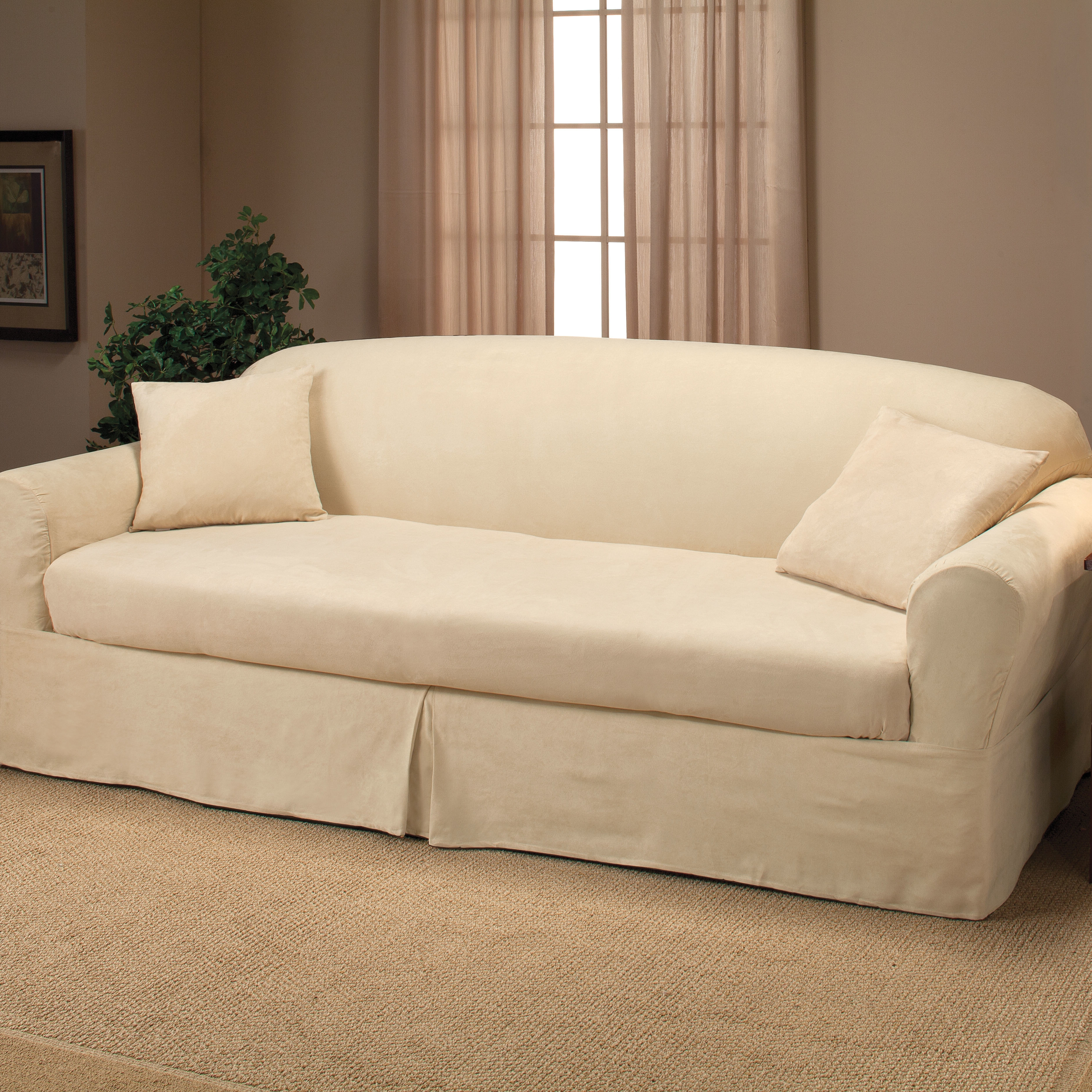 2 Piece Sectional Sofa Slipcovers – Cleanupflorida Inside Glamour Ii 3 Piece Sectionals (Image 1 of 25)