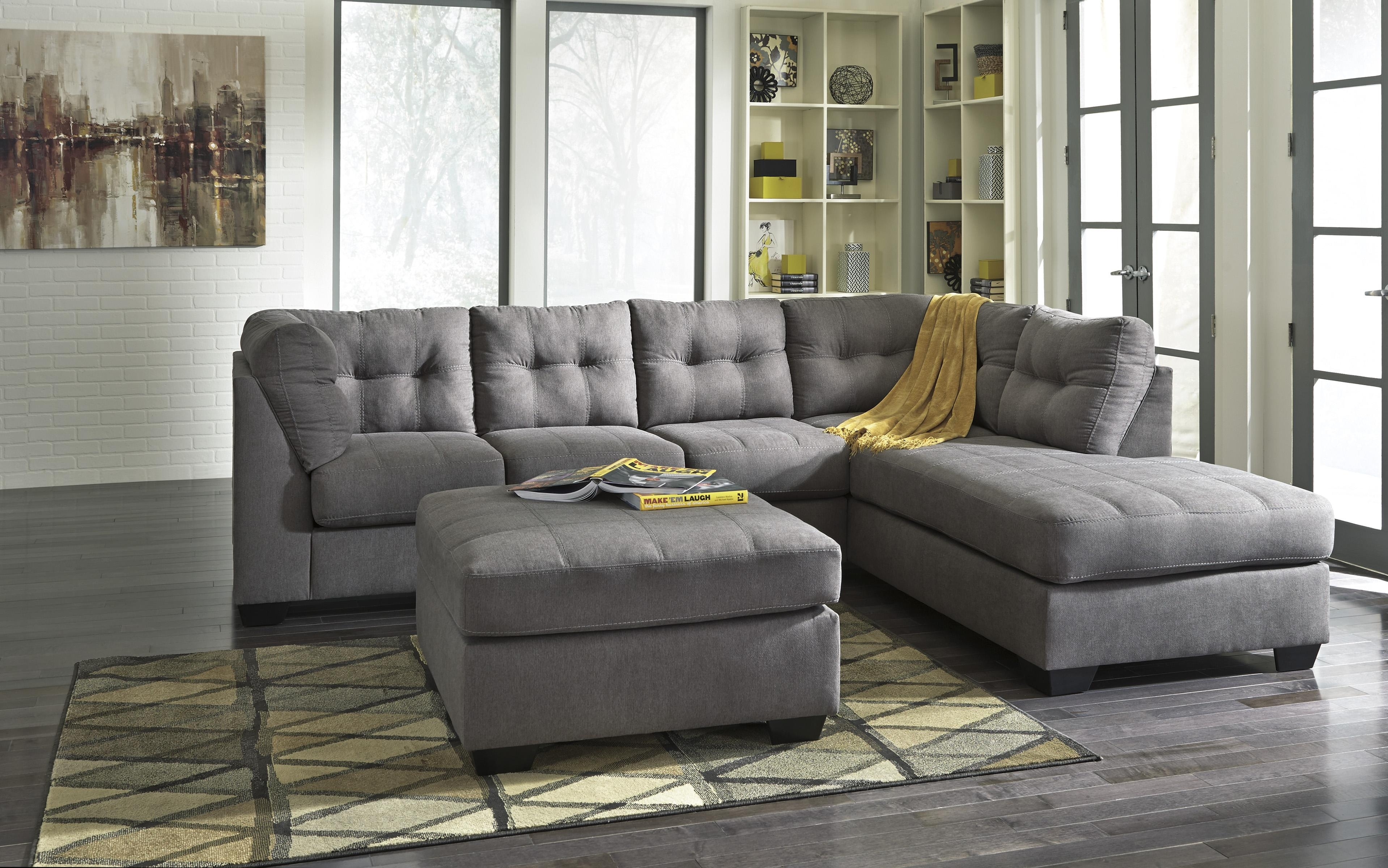 2 Piece Sectional With Right Chaisebenchcraft | Wolf And Pertaining To Aurora 2 Piece Sectionals (Image 1 of 25)