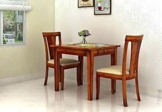 2 Seat Kitchen Table Set Dining Tables 2 Seat Dining Table And Throughout Dining Tables With 2 Seater (Image 4 of 25)