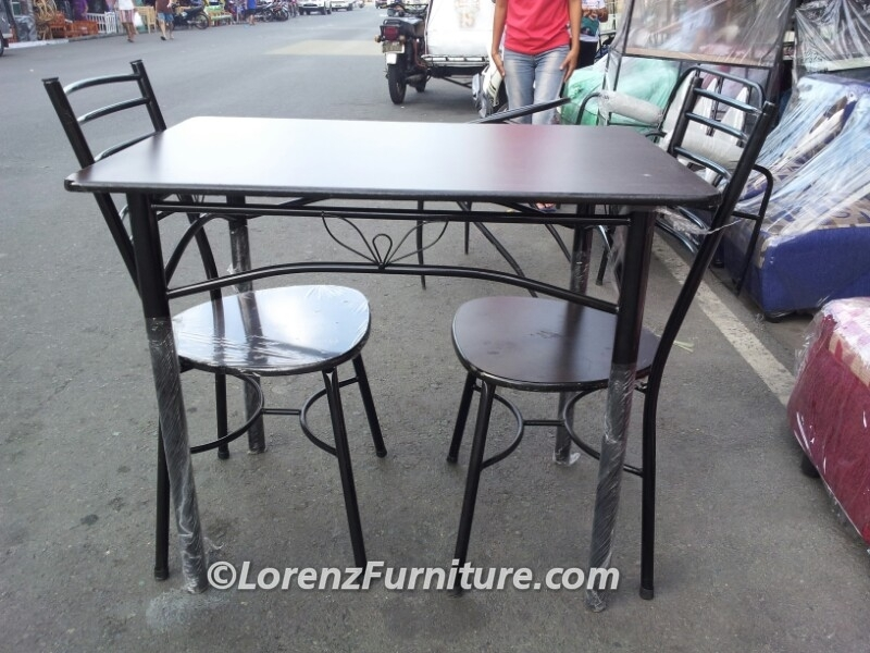 2 Seater Dining Table, Alissandra Chair – Lorenz Furniture With Two Seater Dining Tables And Chairs (Image 6 of 25)