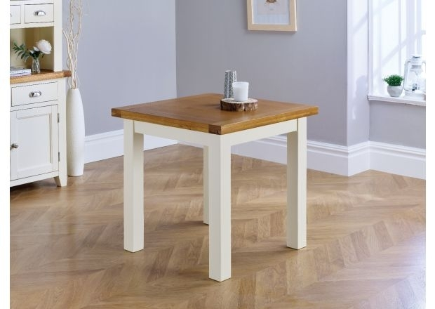 2 Seater Small Oak Dining Tables | Top Furniture Throughout Small Dining Tables For  (Image 3 of 25)