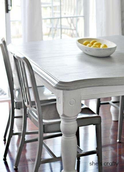 20 Diy Home Decor Ideas   Fashion   Pinterest   Home Decor, Diy Home Regarding Painted Dining Tables (Image 1 of 25)