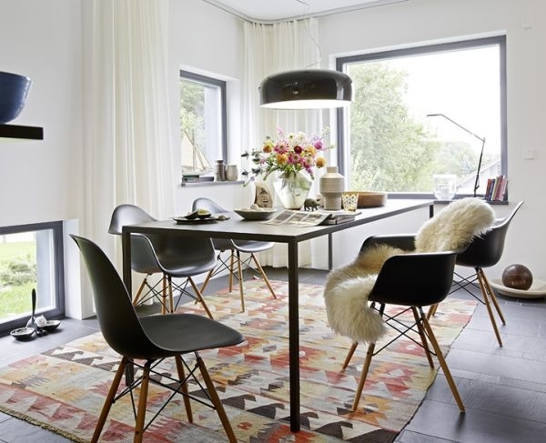 20 Scandinavian Design Dining Room Ideas Pertaining To Scandinavian Dining Tables And Chairs (Image 1 of 25)