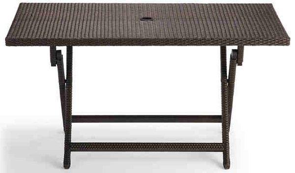 20 Varieties Of Rectangular Folding Outdoor Dining Tables | Home With Folding Outdoor Dining Tables (Image 2 of 25)
