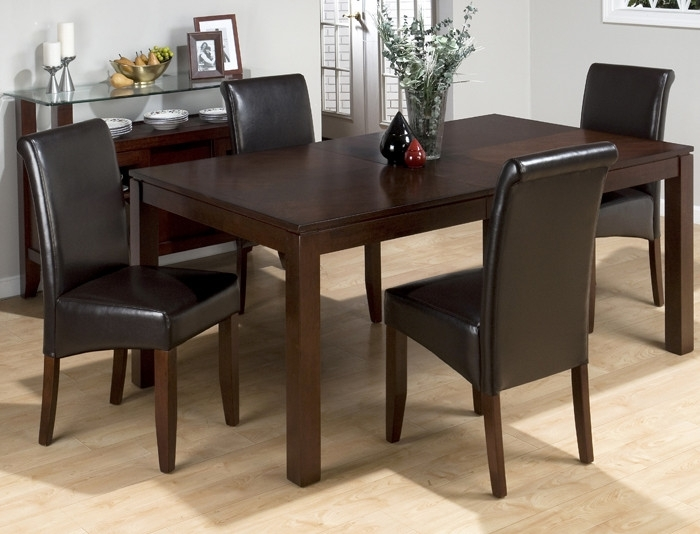 20 Wonderful Rectangle Dining Set Decorating Ideas | Pracmatic Inside Jaxon 6 Piece Rectangle Dining Sets With Bench & Wood Chairs (Image 2 of 25)