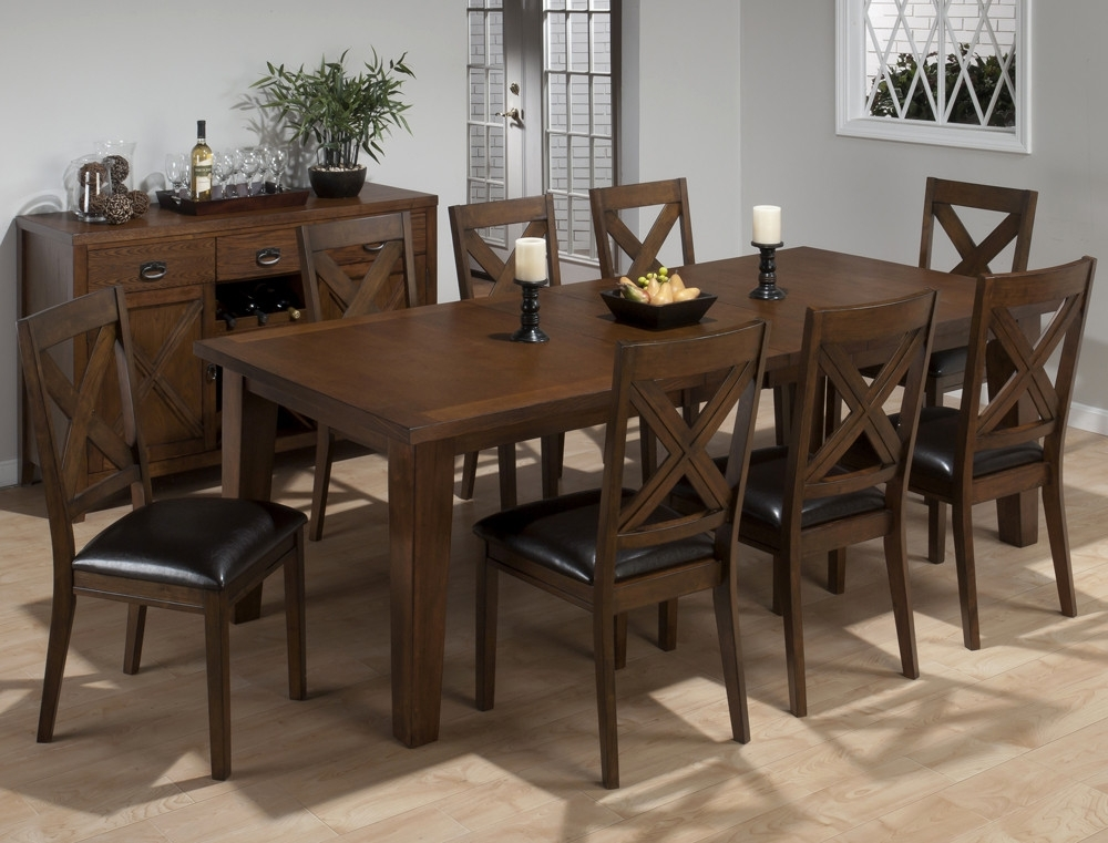 20 Wonderful Rectangle Dining Set Decorating Ideas | Pracmatic Regarding Jaxon Grey Rectangle Extension Dining Tables (Image 1 of 25)