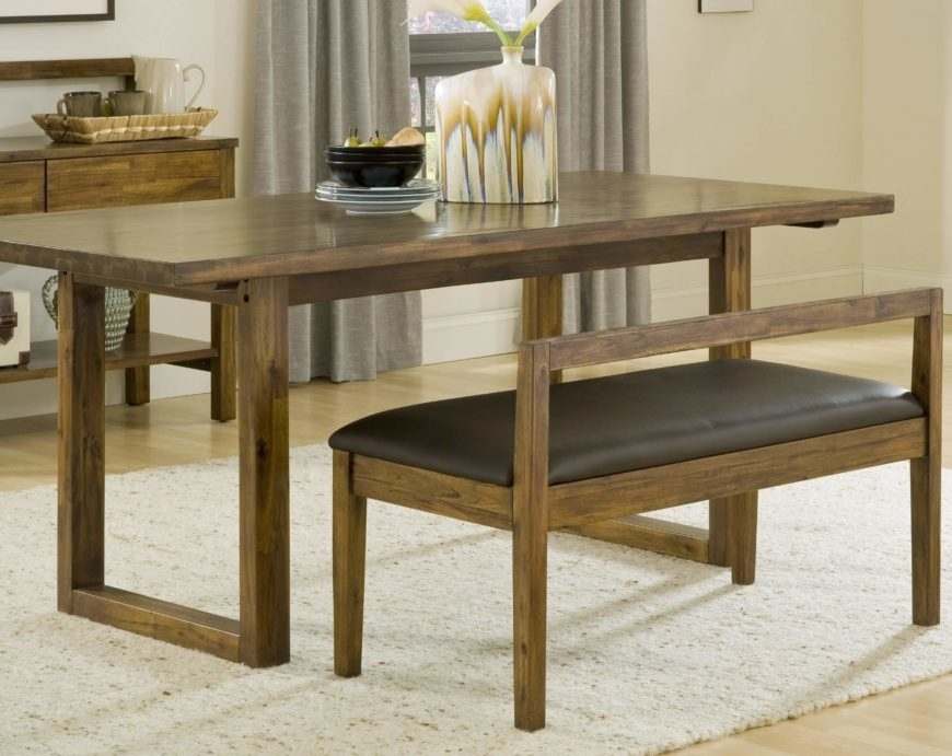 20 Wood Rectangle Dining Tables That Seats 6 Under $500 Pertaining To Sleek Dining Tables (Image 2 of 25)
