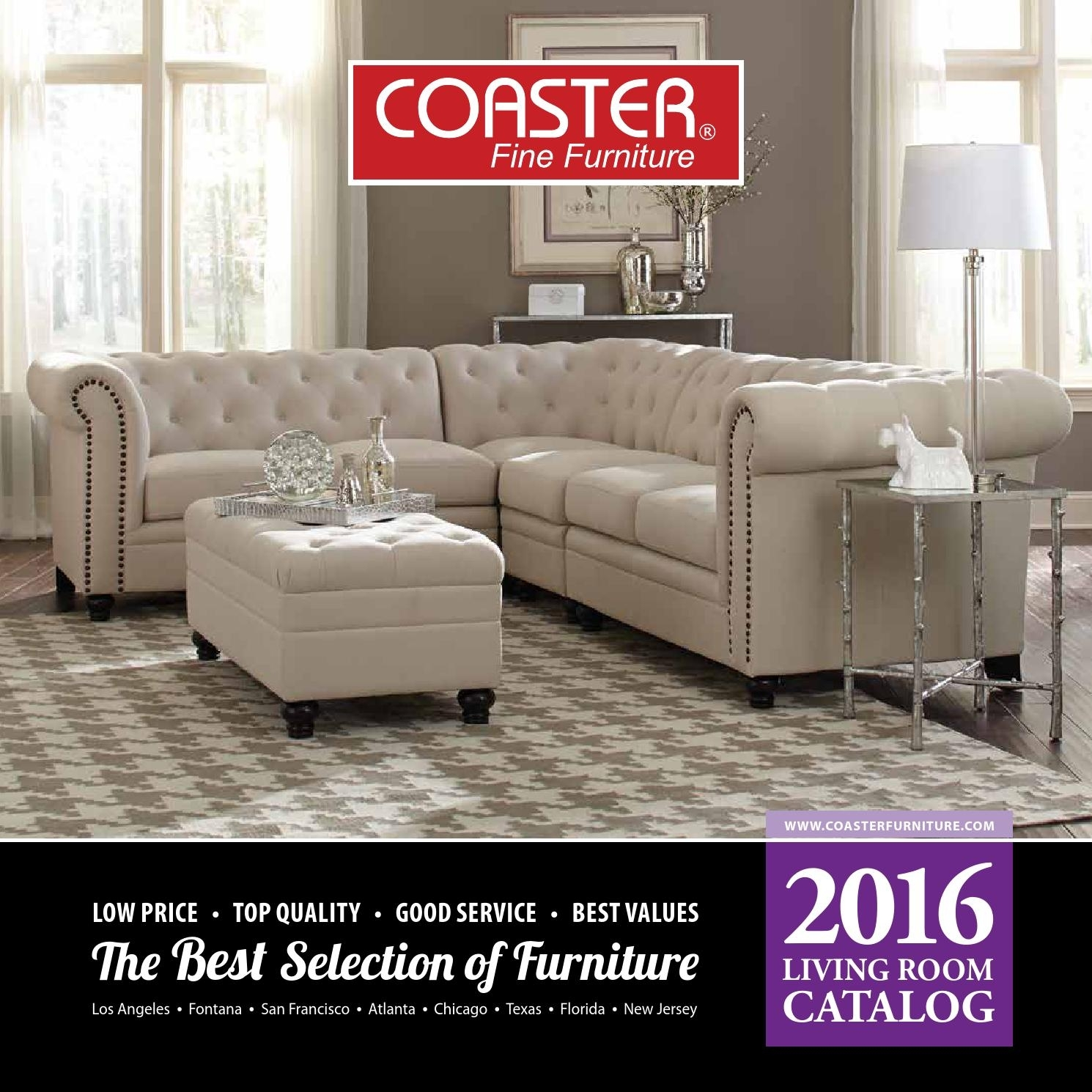 2016 Living Room Catalogcoaster Company Of America – Issuu Within Clyde Saddle 3 Piece Power Reclining Sectionals With Power Headrest & Usb (View 20 of 25)