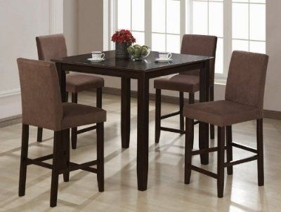 21 New Black Dining Table And 6 Chairs | Furniture | Pinterest within Lindy Espresso Rectangle Dining Tables