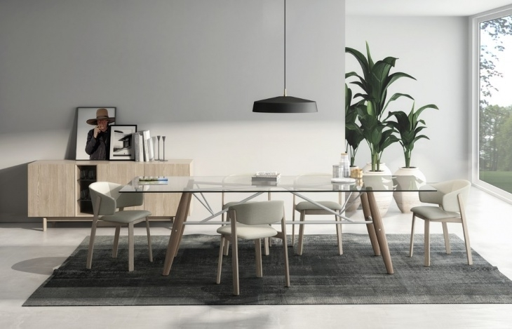 21+ Scandinavian Dining Table Designs, Ideas, Plans | Design Trends Intended For Danish Style Dining Tables (Image 3 of 25)