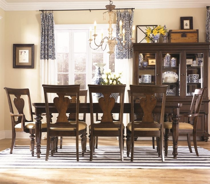 22 Best For My New Home Images On Pinterest | Table Settings, Dining With Regard To Caira 9 Piece Extension Dining Sets With Diamond Back Chairs (Image 1 of 25)