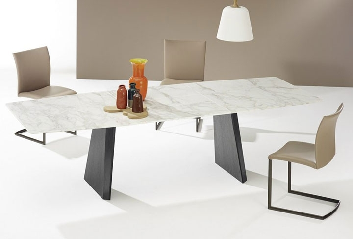22 Extendable Dining Tables – Vurni pertaining to Extending Marble Dining Tables