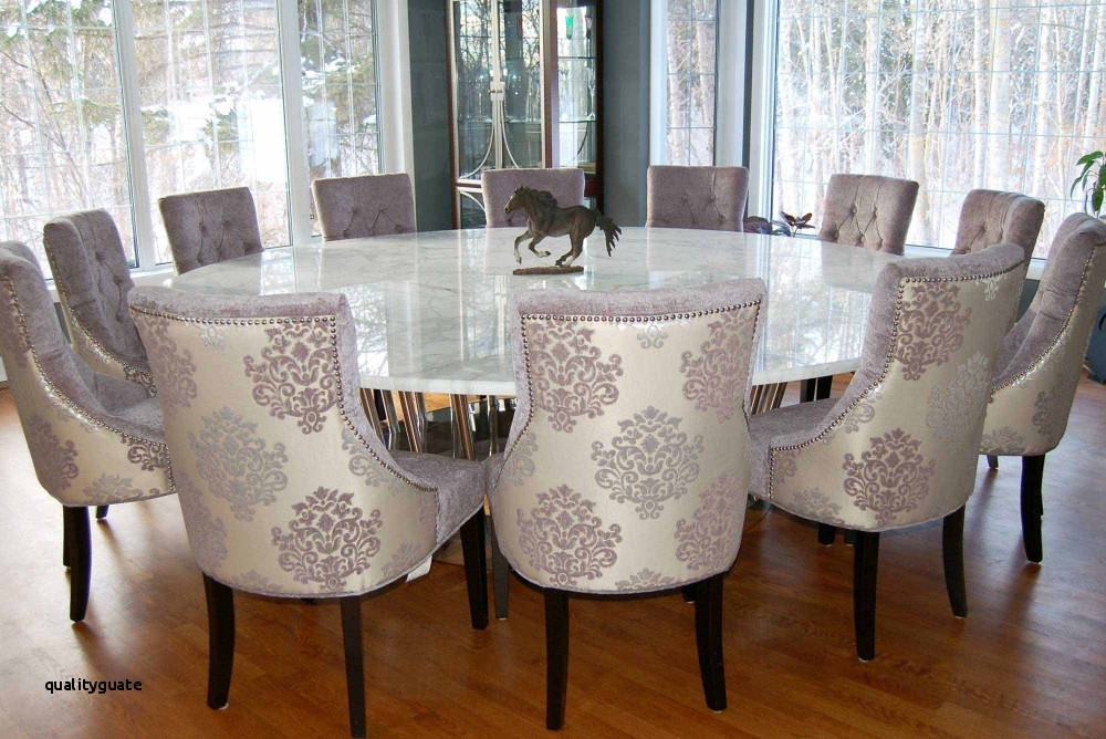 23 Excellent Large Round Dining Table Seats 10 Concept Regarding Huge Round Dining Tables (Image 2 of 25)